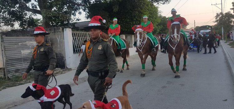 Policía Nacional invita a la comunidad a participar de las festividades de forma pacifica y responsable