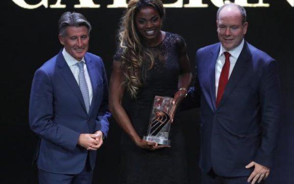 Caterine Ibargüen la mejor atleta del mundo del 2018