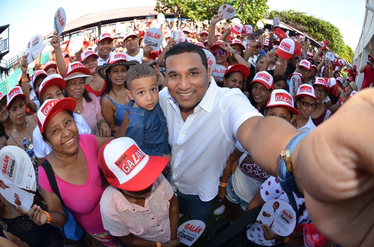 Oscar David Galán el joven concejal de Barranquilla nacido en las entrañas del sur occidente que aspira ser gobernador del atlántico