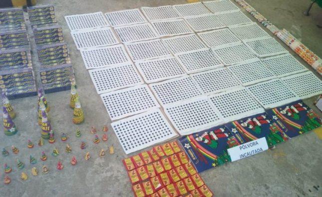 Autoridades incautan 35 kilos de pólvora en Barranquilla