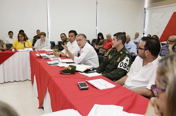 Consejo Departamental de Política Social cierra filas contra uso de pólvora en Atlántico