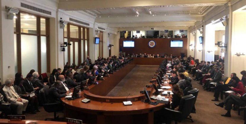 OEA desconoce nuevo mandato de Maduro