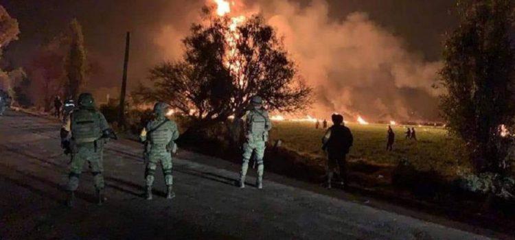 66 muertos tras explosión de oleoducto en México