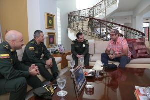 Alcalde Char y Policía asignan 1500 uniformados para festividades del Carnaval