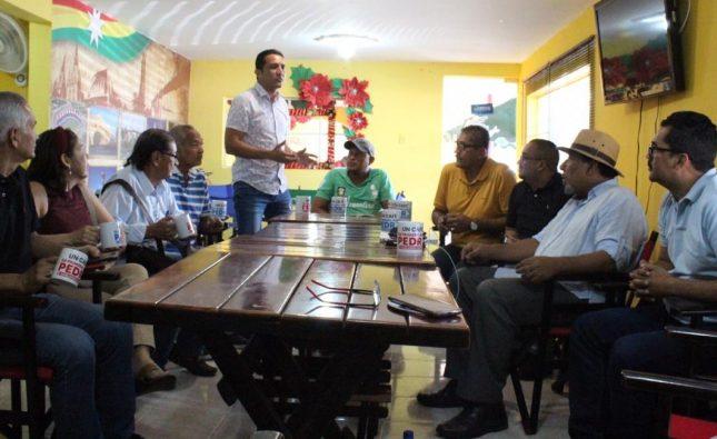 Hacedores del Carnaval de la 44 manifiestan apoyo a Pedro Lemus