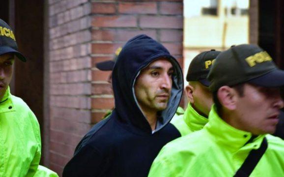 Legalizan captura de Ricardo Carvajal, capturado por atentado en Bogotá
