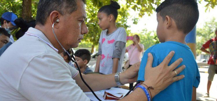 Secretaría de Salud de Soledad entrega recomendaciones para evitar infecciones respiratorias por fuertes brisas