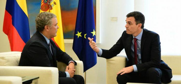 España pide al ELN renunciar al terrorismo