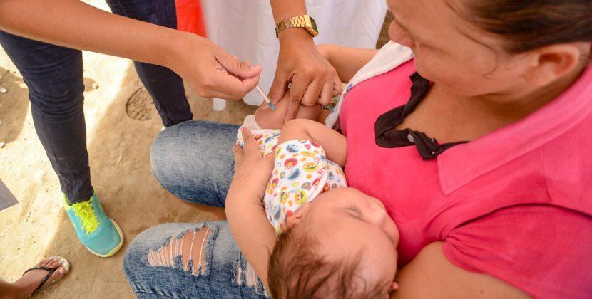 En 2018, Hospital de Soledad Materno Infantil superó la meta de 200 mil dosis de vacunas