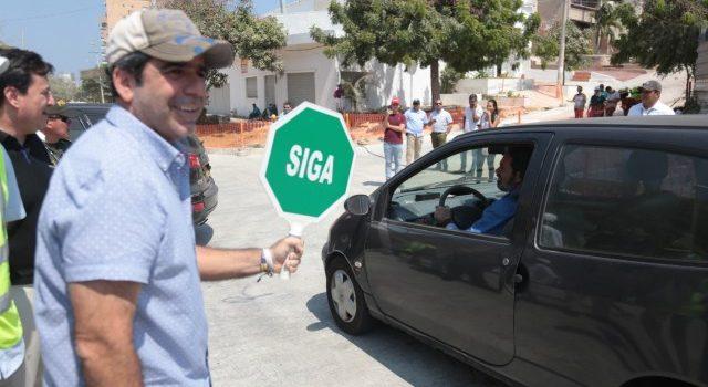 Con apertura de vía, alcalde Char le entrega a Barranquilla totalmente canalizado el arroyo de la 91 y 92