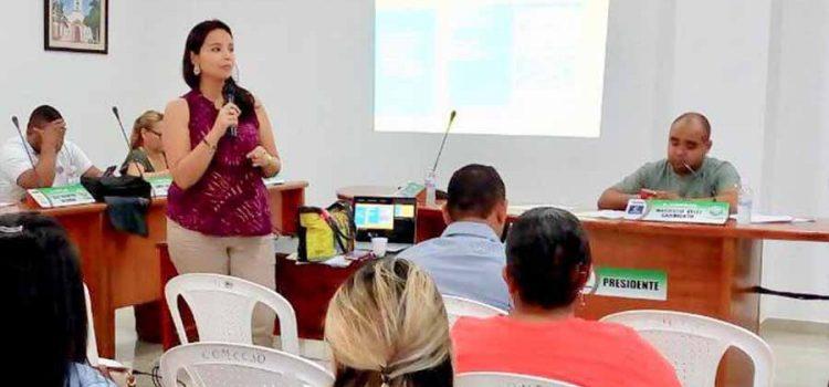 Electricaribe participó en sesión del Concejo de Baranoa