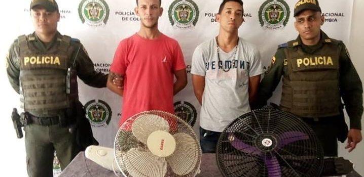 Policía frustra robo en CDI de Polonuevo