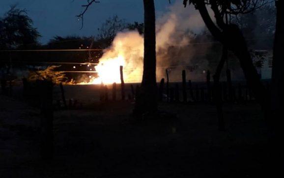 Enfrentamientos en Guarero población venezolana fronteriza con Colombia
