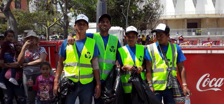 Barranquilla Verde hace presencia en eventos de Carnaval para fomentar y garantizar el reciclaje