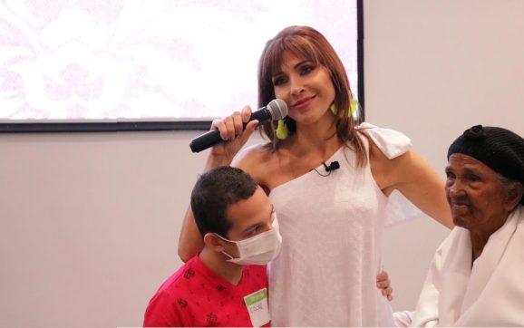 Lorena Meritano estuvo en Barranquilla hablando de su experiencia con el cáncer