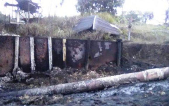 Nuevo atentado contra el oleoducto Caño Limón Coveñas en Arauca