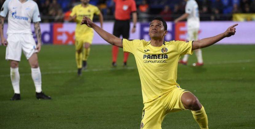 Carlos Bacca protagonista en triunfo del Villareal