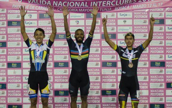 Alex Cujavante, integrante del 'Team Barranquilla', logró oro y plata en la sexta Valida Nacional Interclubes