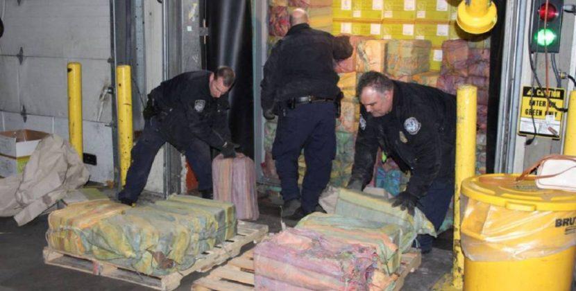 En Nueva York reportan la segunda mayor incautación de cocaína en 25 años