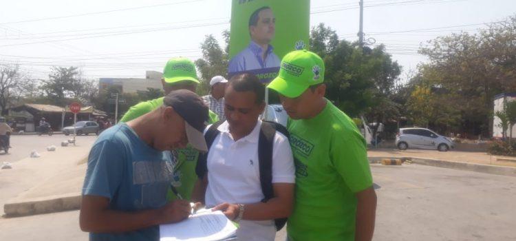 Bryan Orozco inicia recolección de firmas para lanzarse a la Alcaldía de Soledad