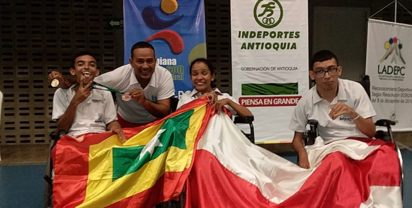 Con oro y bronce, jugadores de boccia brillaron en campeonato nacional