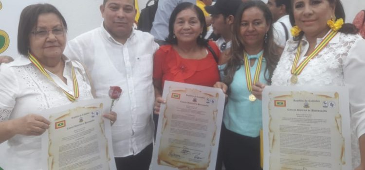 En el marco del mes de la mujer Concejo de Barranquilla exaltó a mujeres en el Distrito