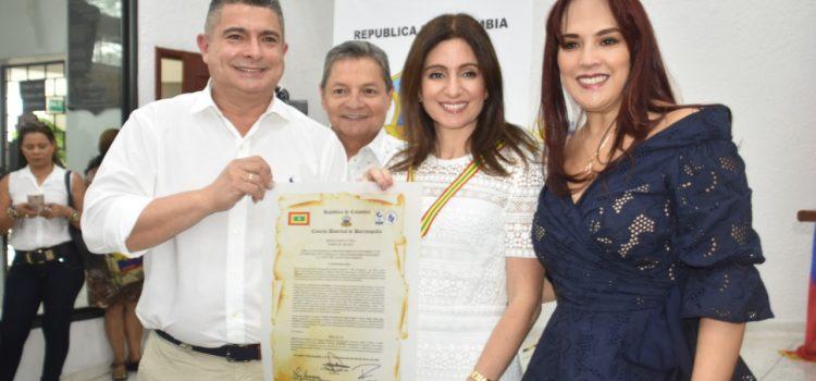 En el marco del mes de la mujer, Concejo Distrital, rinde homenaje a la mujer Barranquillera