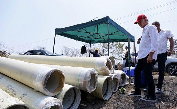 Con 36,3 kilometros de tubería desde el Canal del Dique, mejora servico de agua en Luruaco