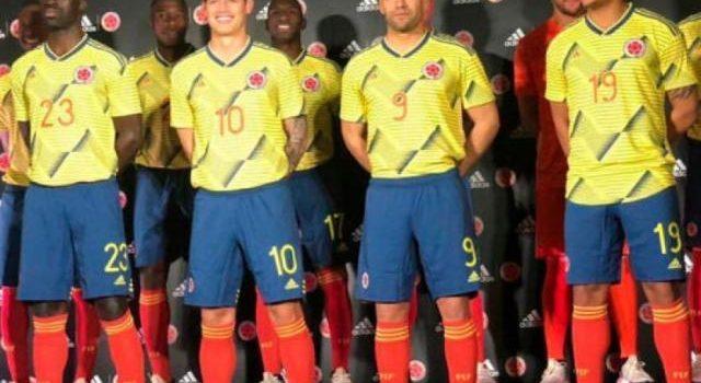 Colombia enfrentará a Japón y Corea del Sur con nuevo uniforme