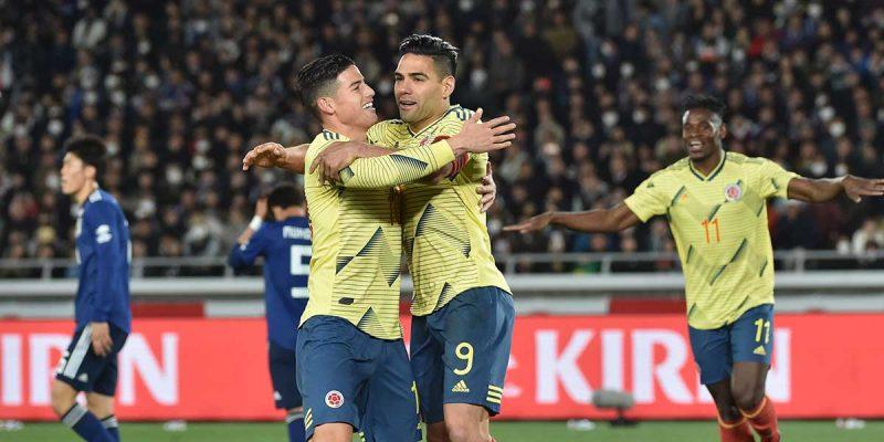 Colombia vence a Japón en partido amistoso