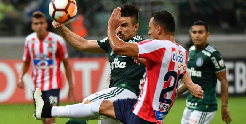 Junior pierde frente a Palmeiras en su debut por Copa Libertadores 2019