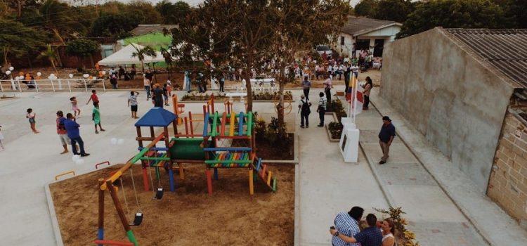 Alcaldía de Baranoa entrega parque remodelado en el barrio San José