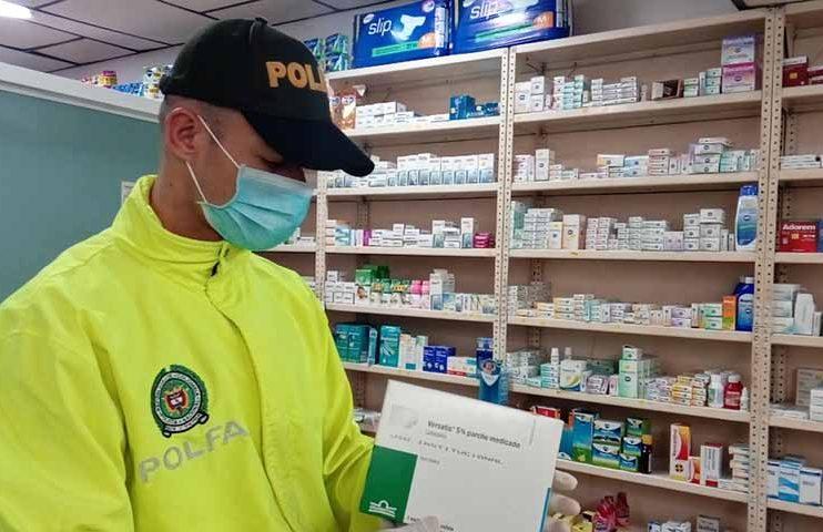 Policía incauta medicamentos por más de $100 millones
