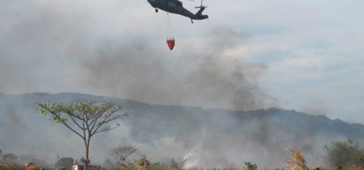 Alerta roja por posibles incendios forestales en el Atlántico