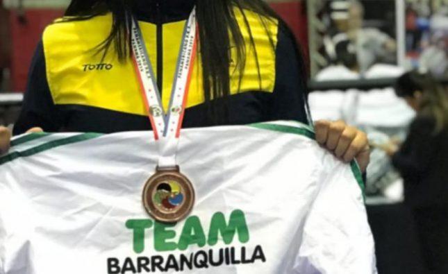 En Estados Unidos, integrante del Team Barranquilla conquistó bronce en karate do