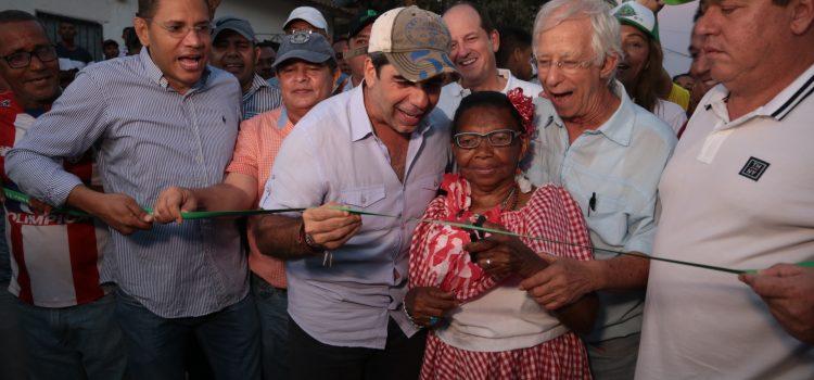 Alcalde Char entregó vías y parque para el beneficio de 85.000 habitantes