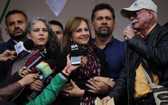 Ángela María Robledo posible candidata a la alcaldía de Bogotá