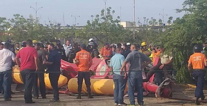 Muere general venezolano al caer a tierra helicóptero que lo transportaba