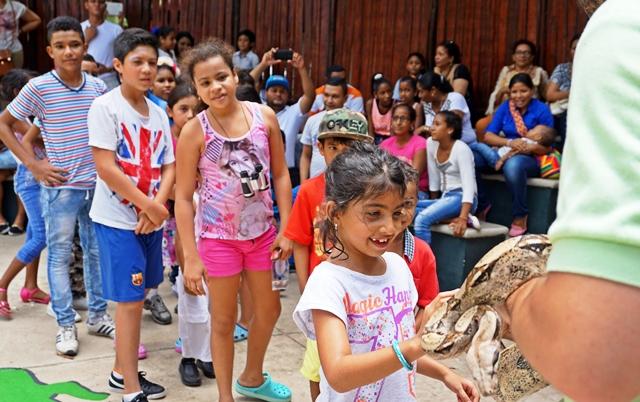 Zoológico de Barranquilla, listo para la Semana Santa
