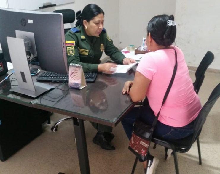Policía del Atlántico crea enlaces de atención para mujeres víctimas de violencia intrafamiliar