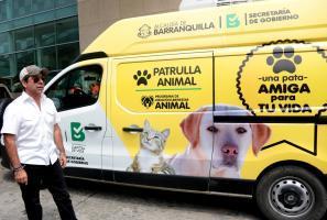 Alcalde Char destaca labor de patrullas animales distritales