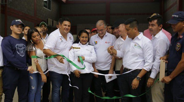 Gobernación del Atlántico entrega al servicio la nueva Estación de Bomberos de Galapa