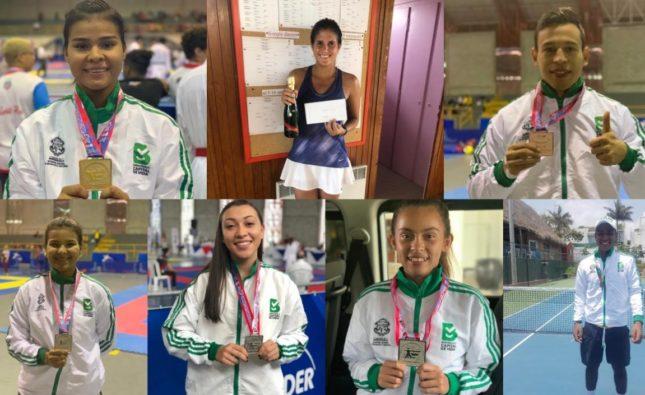 Triunfos del Team Barranquilla no se detienen: seis medallas en Centroamericano de Karate y tres títulos en tenis