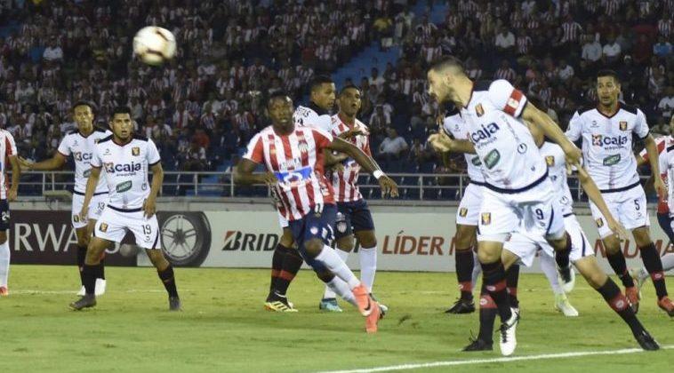 Junior pierde en Barranquilla su tiquete a la Copa Sudamericana