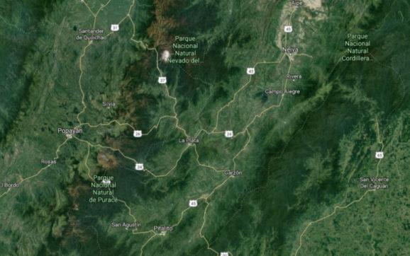 Tembló en el centro de Colombia este viernes