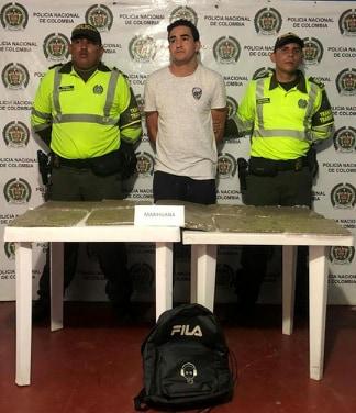 Policía Incauta más de 5.000 gramos de marihuana 'KRIPY'