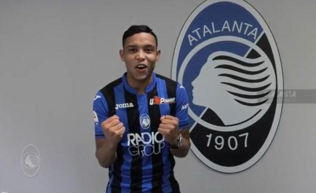 Luis Fernando Muriel nuevo jugador del Atalanta