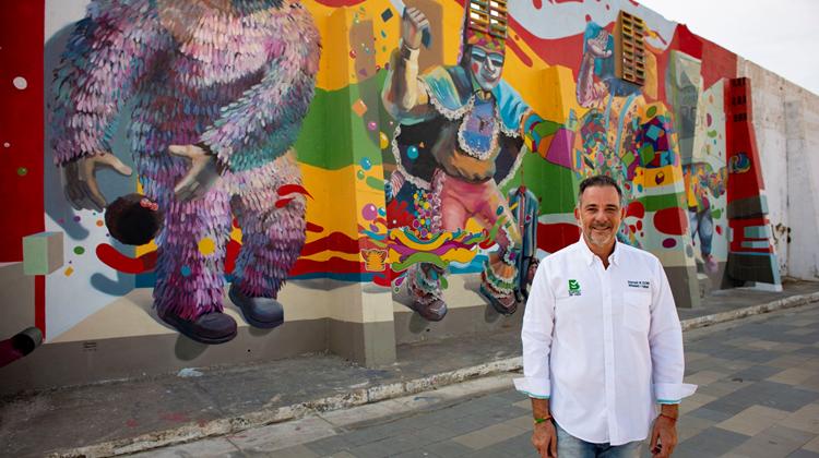 Barranquilla es Colombia en el programa Corrientes del Mundo, en Francia