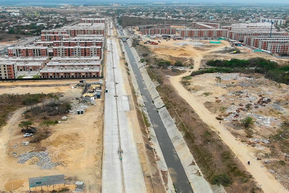 Avanza en 50 % adquisición predial en obras de vía Salao-Platanal