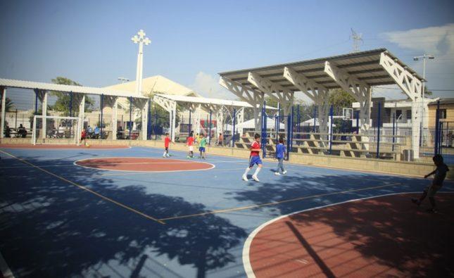 Administración Herrera entregó complejo deportivo en barrio El Parque